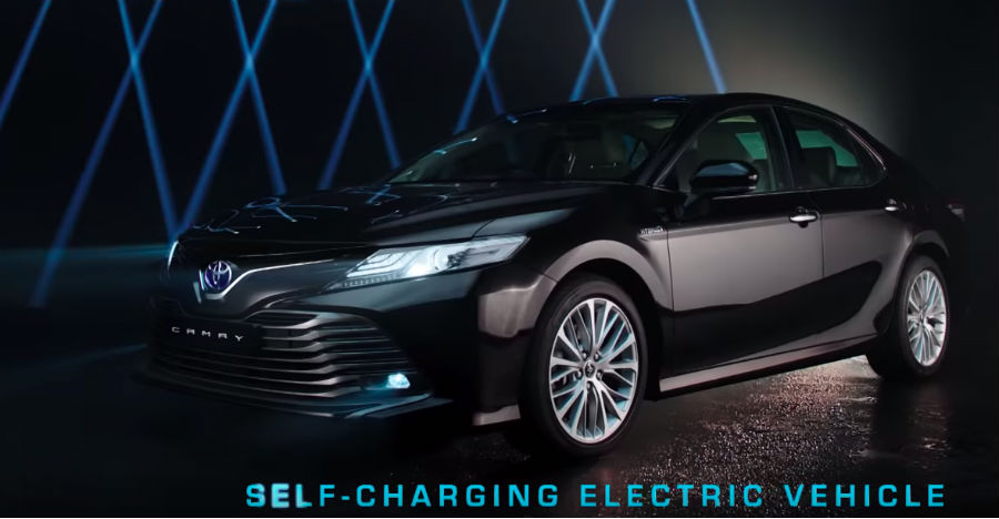 Toyota Camry Hybrid Featured