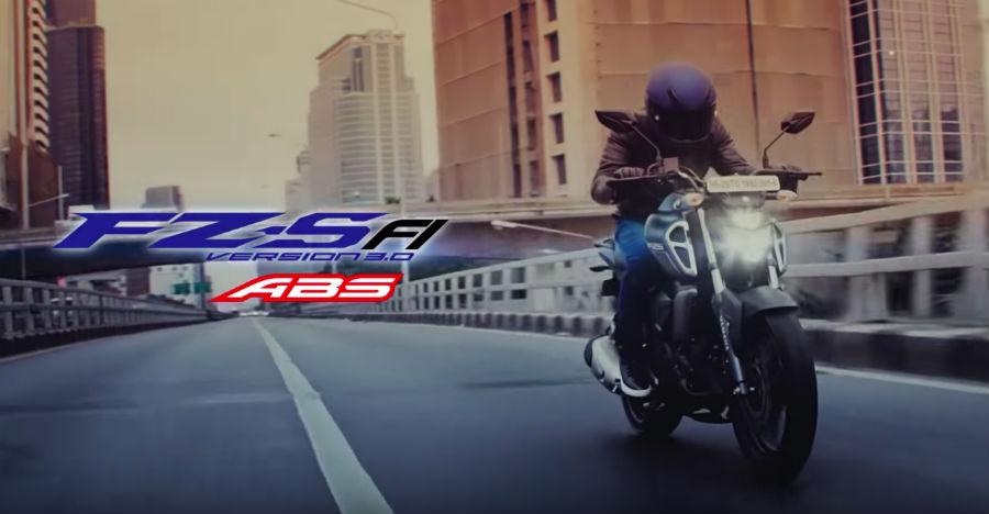 Yamaha FZ-S TVC highlights new features
