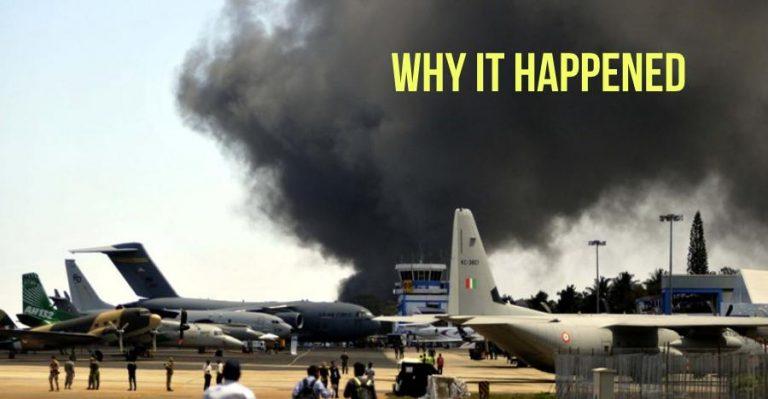 Aero India Fire Featured