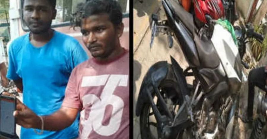 Man steals Bajaj Pulsar NS200, gets tracked down within hours through GPS tracker