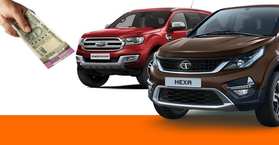 SUVs selling at discounts of upto Rs. 5 lakh: Jeep Compass to Tata Hexa