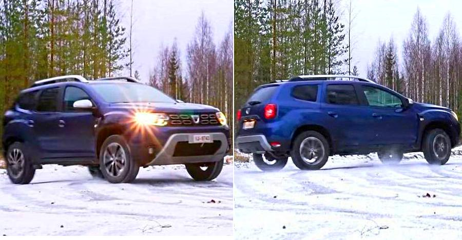 Upcoming 2019 Renault Duster: Watch it drift on snow [Video]