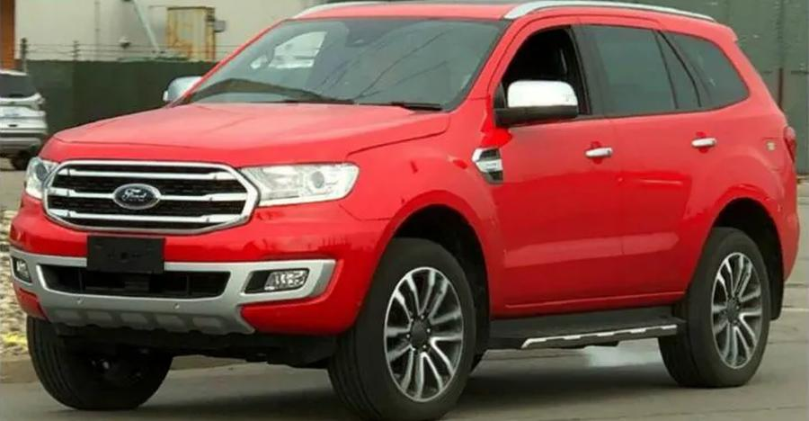 Ford Endeavour Facelift Featured