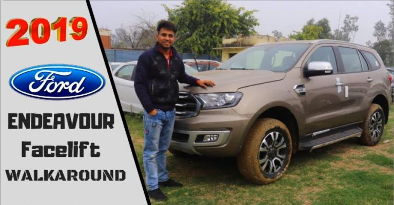 Ford Endeavour Facelift Walkaround Featured