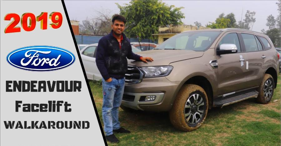 2019 Ford Endeavour changes explained in video