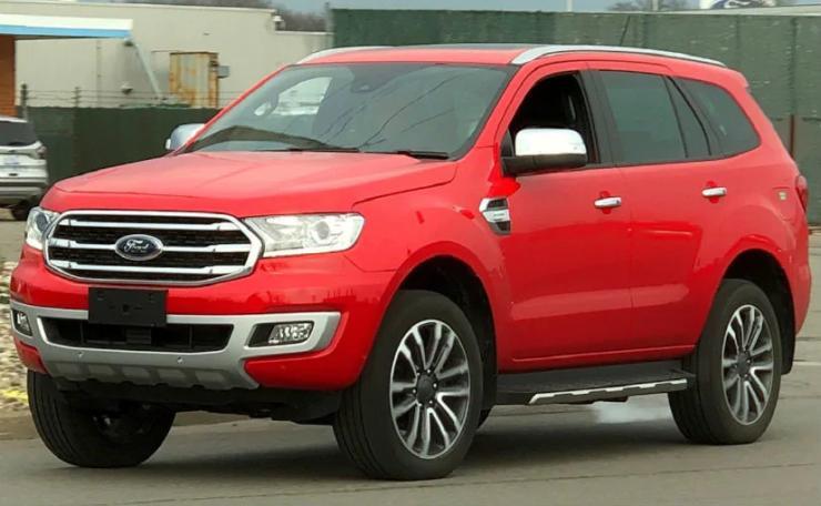 Ford Endeavour Facelift