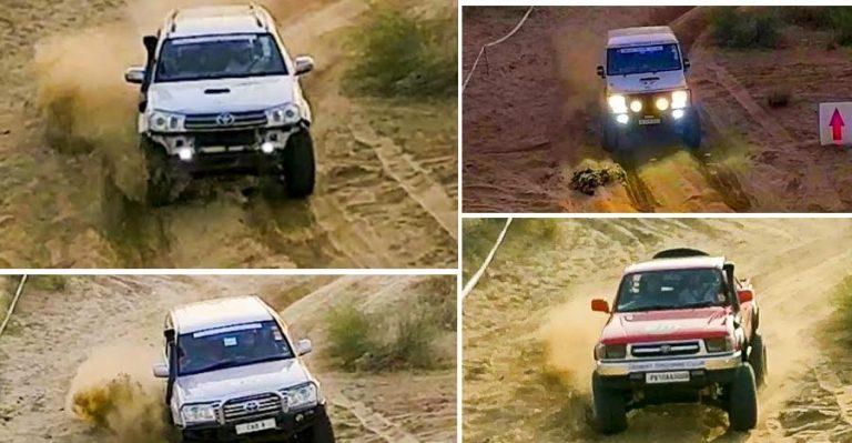 Fortuner Bolero Hilux Landcruiser Desert Featured