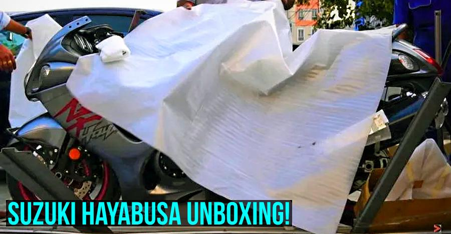 This is how a Suzuki Hayabusa superbike gets 'unboxed' in India [Video]