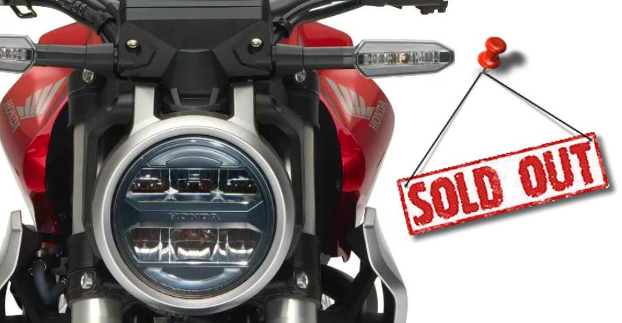Honda Cb 300r Sold Out Featured