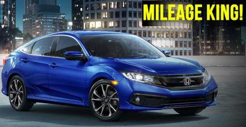 Honda Civic Mileage Featured