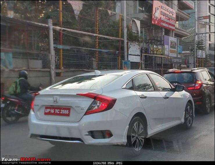 Honda Civic Spyshot 2