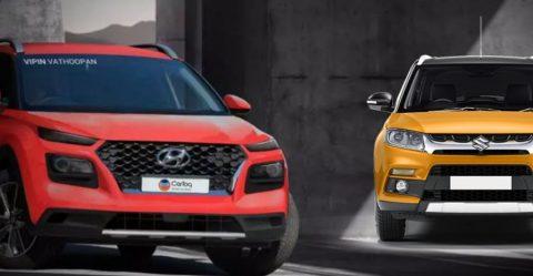 Hyundai Styx Maruti Brezza Featured