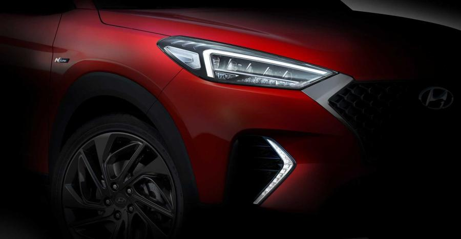 Hyundai Tucson N-Line high performance SUV to be unveiled soon