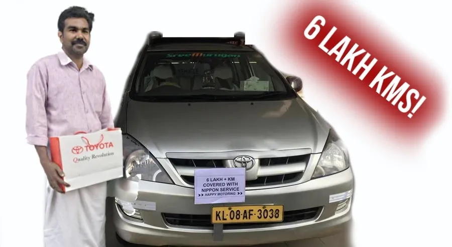This Toyota Innova has done 6 lakh kms & is still going STRONG