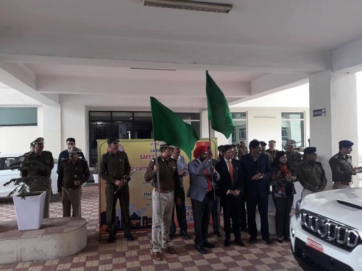 Mahindra Scorpio Gurugram Police 1