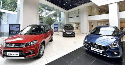 Maruti Showroom Featured