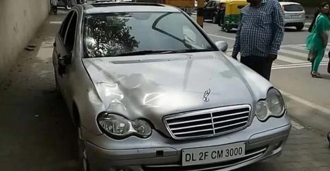 Mercedes Delhi Hit And Run Featured