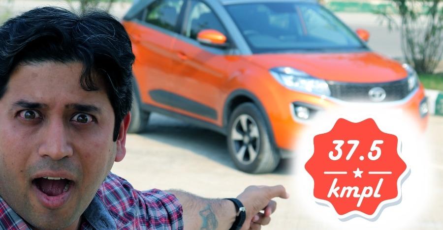 Tata Nexon Diesel AMT fuel economy run: We got 37.5 KMPL! [VIDEO]