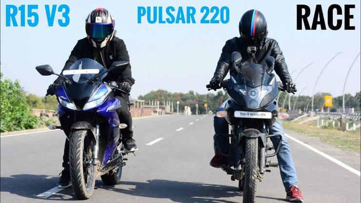 R15 Vs Pulsar 220