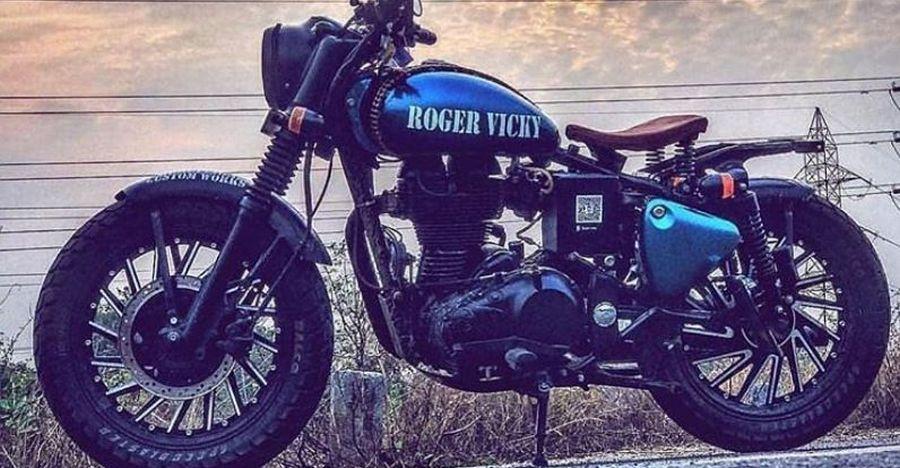5 custom, modified Royal Enfield motorcycles
