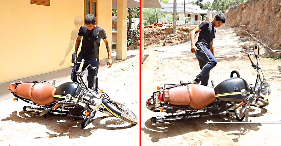 Royal Enfield Lifting Featured
