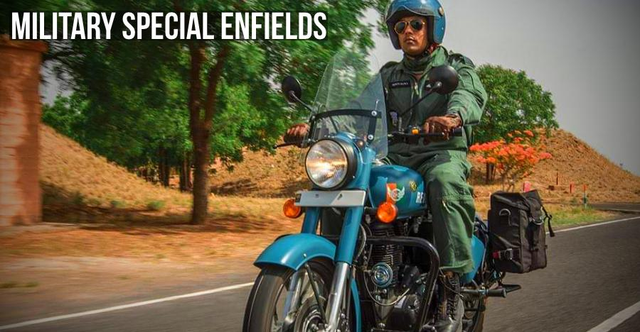 Royal Enfield motorcycles with a Military heritage: Flying Flea to Classic Signals