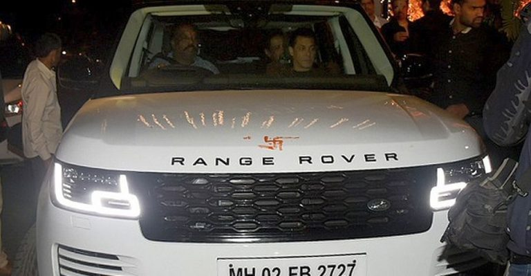 Salman Khan Range Rover Featured