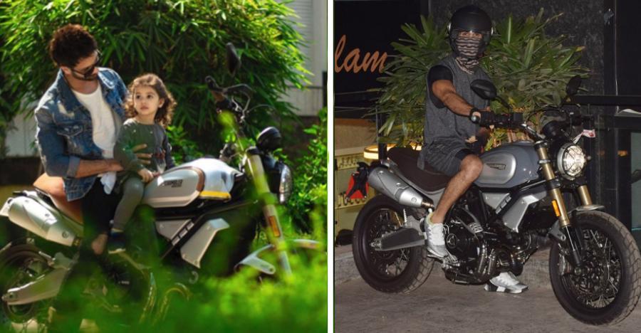 Shahid Kapoor Ducati Scrambler Featured