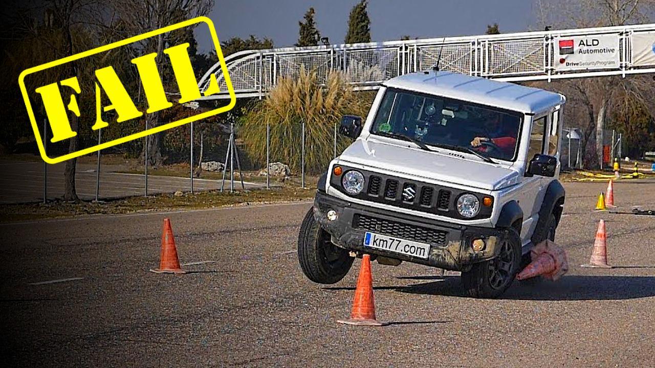 Suzuki Jimny FLUNKS the Moose test: We explain why [Video]