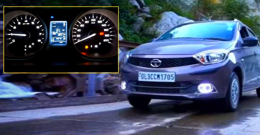 How far can the Tata Tiago go after the low fuel warning? [Video]