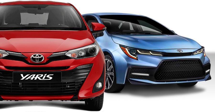 Toyota Yaris Corolla Hybrid Featured