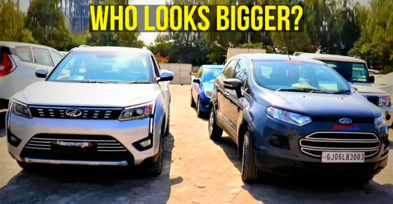 Xuv Vs Ecosport Street Presence Comparo Featured