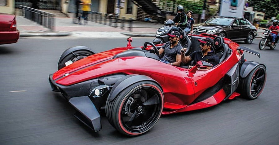 Made-in-India MotorMind Hyperion 1 Sports car hits Bengaluru roads [Video]