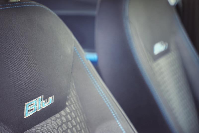 New Ford Figo Blu Badging