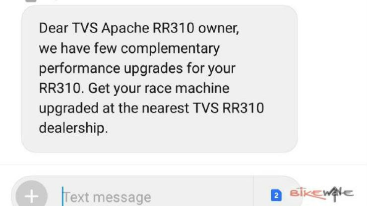 Tvs Apache Rr Recall