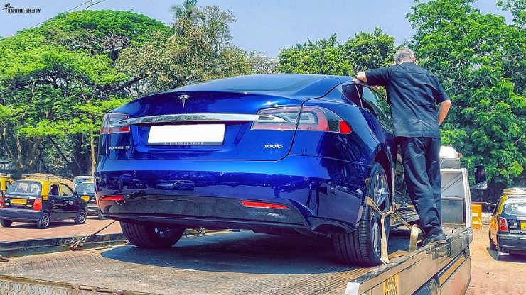 India's first Tesla Model S is here!