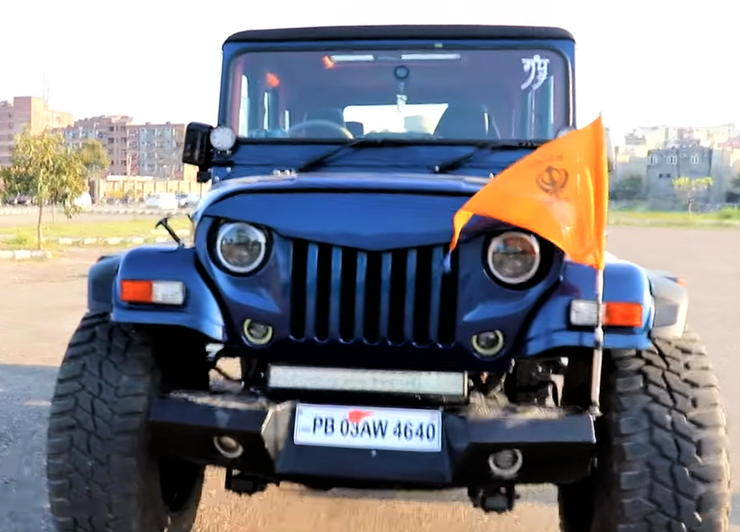 This 'MONSTER' 4 door Mahindra Thar is for sale, & it's