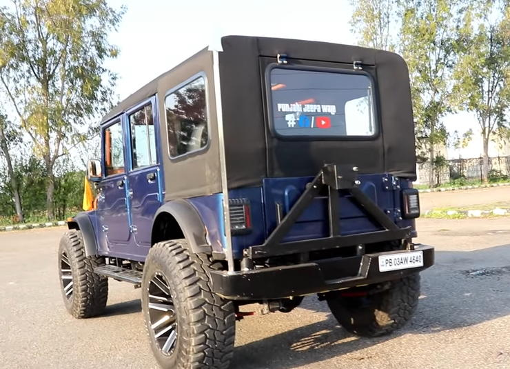 This 'MONSTER' 4 door Mahindra Thar is for sale, & it's cheaper than