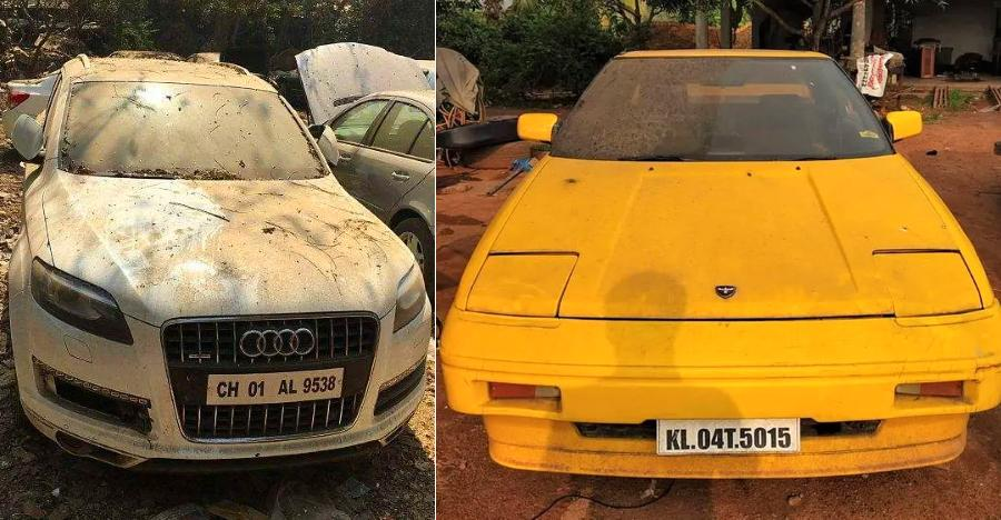 Abandoned Exotic Cars India Featured