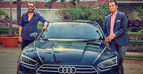 Ajay Devgn Audi Featured