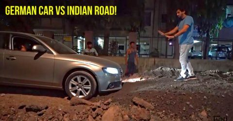 Audi A4 Bad Road Featured