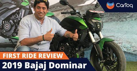 Bajaj Dominar 400 Review Featured