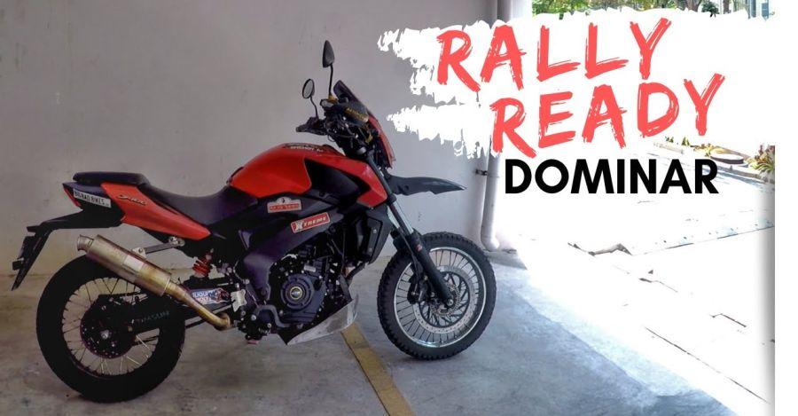Meet the rally-spec Bajaj Dominar: Desert Storm ready!
