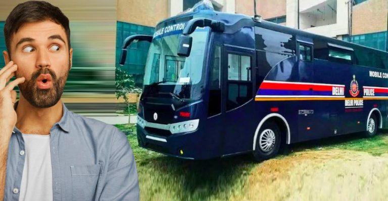 Delhi Police Bus Featured