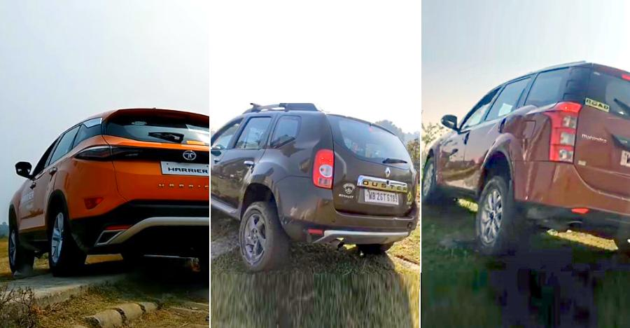 Tata Harrier vs Renault Duster vs Mahindra XUV500: Which SUV NAILS the off road test [Video]