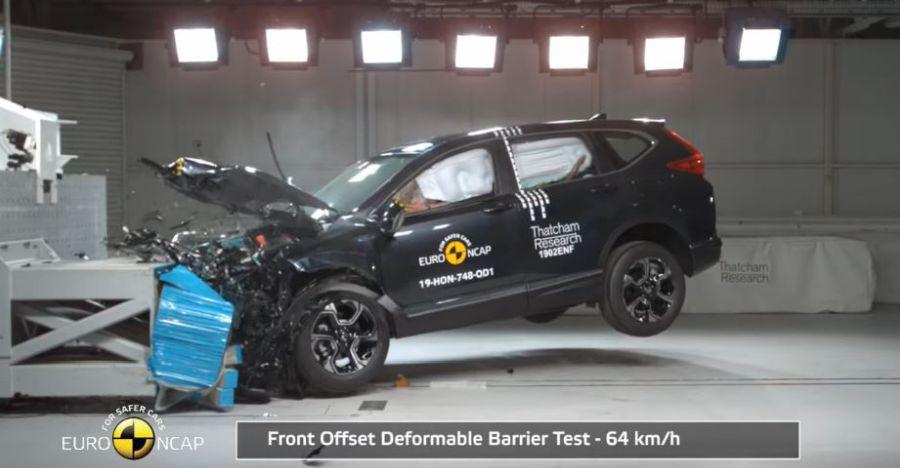 Latest Honda CR-V Scores a 5-Star Rating in Euro NCAP Crash Test