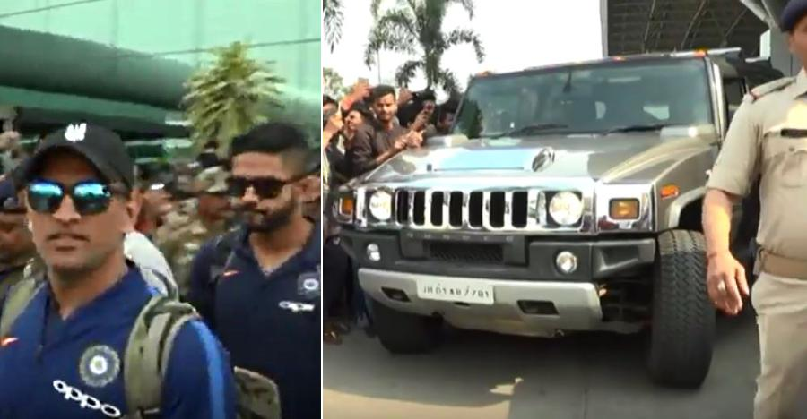 Hummer Dhoni Featured