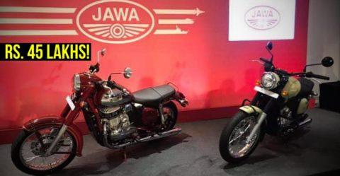 Jawa 45 Lakhs Featured
