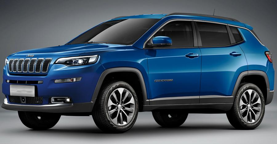 Jeep Compass Facelift Featured