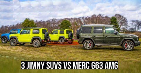 Jimny Vs G63 Amg Featured